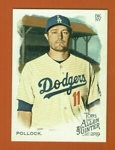 2019-Topps-Allen-amp-Ginter-A-J-Pollock-234-Los-Angeles-Dodgers