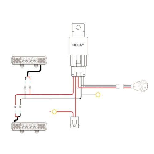 2 Years Warranty Nilight Led Light Bar 2PCS 18W Flood Light,Wiring Harness Kit