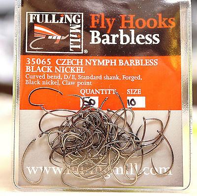 Fliegenfischen 50 Stück !!! Fulling Mill 31510 SHORT SHANK Special Gr.14;12;10