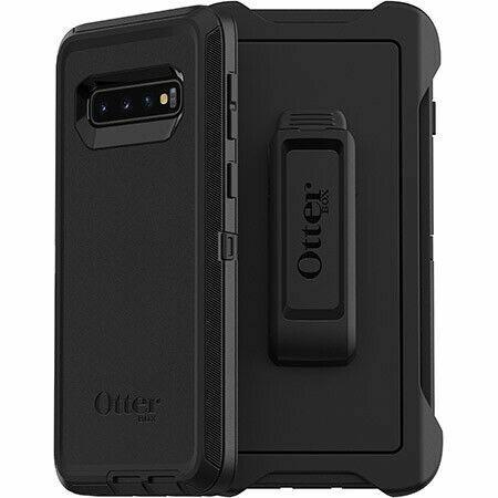Otterbox 77 61282 Defender Series Case For Samsung Galaxy S10 Black For Sale Online Ebay