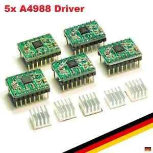 5x-A4988-Stepper-Motor-Schrittmotor-Treiber-Driver-3D-Drucker-RepRap-Ramps-Po