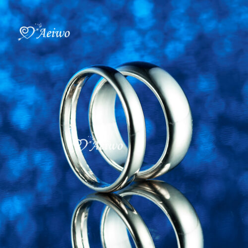 18K WHITE GOLD GF WEDDING BAND RING SYDNEY STOCK
