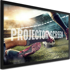 135 Inch Fixed Aluminum Frame Projector Screen Home Theatre Hd Tv Projection
