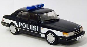 Ixo-Editions-atlas-DeAgostini-saab-900-policia-polis-poliisi-Finlandia-0-1-43