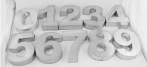Nuevo Número En Forma De Molde De Números 0 1 2 3 4 5 7 8 9 O 6 Cake