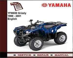 image is loading yamaha-yfm600-yfm-600-grizzly-1998-2001-service-