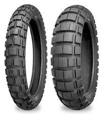 90//90-21 /& 130//90-17 Dunlop D606 Tire Set For KLR650//XT600E//DR650SE//Transalp//BMW