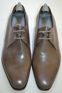 John-Lobb-Paul-Smith-Willoughby-Leather-Pebble-Grey-Shoes-UK-6-5-US-7-5-New