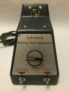 NEW Gallenkamp Melting-Point Apparatus 110V | eBay