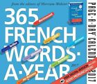 365 French Words-a-year 2017 Daily Boxed Calendar by Workman