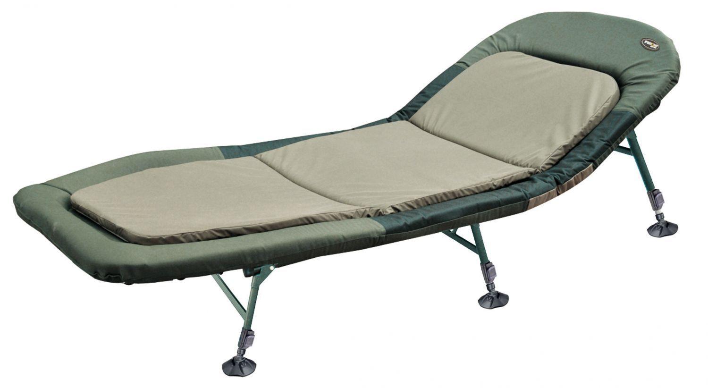Pro carp 6-pierna angel karpfenliege tumbona tumbona de pesca con colchón modelo 8211