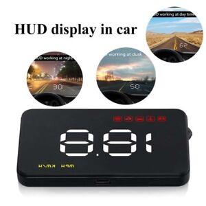 Voiture-hud-Affichage-tete-haute-numerique-Consommation-3-5-034-Compteur-de-vitesse