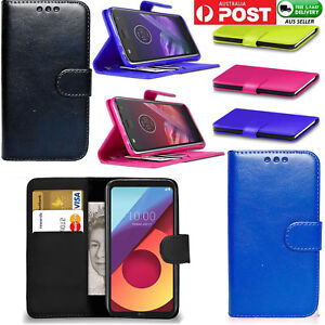 first rate 1d7de 4b418 Details about For LG Q6 Plus Q6 M700 Premium Wallet Leather Case Flip Cover  Pouch Card Pocket