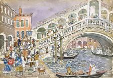 Maurice Prendergast Reproduction: Rialto Bridge, Venice: Fine Art Print