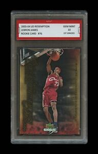 2003-LEBRON-JAMES-034-SLAM-DUNK-034-UPPER-DECK-UD-1ST-GRADED-10-ROOKIE-CARD-RC-LAKERS
