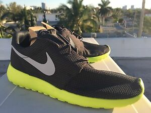 best sneakers dd94f ea8f0 Image is loading NIKE-ROSHE-RUN-CYBER-WOLF-GREY-ANTHRACITE-ROSHERUN-