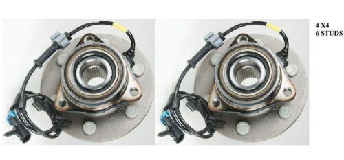 Front Wheel Hub Bearing Assembly Fit Chevrolet Silverado 1500 1999-06 PAIR 4X4