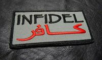 Infidel Arabic Tactical Army Morale Crusader Combat Acu Hook Loop Patch