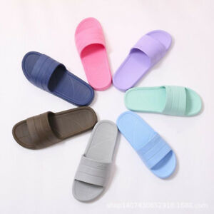 #5 Fashion Women Slipper Slip On Sliders Hollowed Fur Slippers Flip Flop Sandals