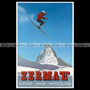 phpb-000542-Photo-ZERMATT-SUISSE-SWITZERLAND-1959-SPORT-D-039-HIVER-SKI-Reprint