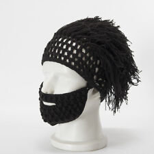 d6c8852619b item 8 Mens Mystery Knit Beard Hats Beanie Cap with Wig Winter Ski Mask  Mustache Face -Mens Mystery Knit Beard Hats Beanie Cap with Wig Winter Ski  Mask ...