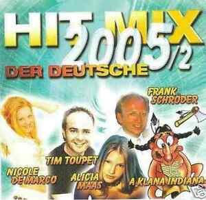 Hit-Mix-2005-2-Der-Deutsche-2-CD-NEU-TOMMY-FISCHER-JULIANE-WERDING-ROSENBERG
