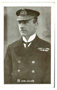 Antique-WW1-military-postcard-Sir-John-Jellicoe-Royal-Navy-portrait