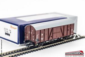ROCO-67279-H0-1-87-Carro-merci-chiuso-DR-modello-Gltrhsu-13-Ep-III