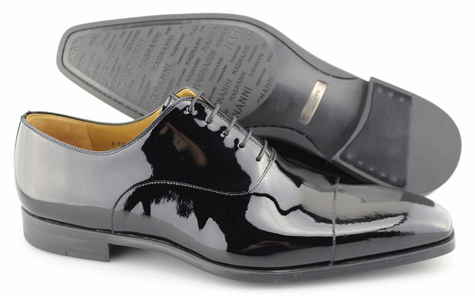 Manglanni  Clint  negro zapatos de cuero de Oxford talla  US 11.5-d