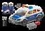 PLAYMOBIL-CITY-ACTION-COCHE-DE-POLICIA-CON-LUCES-Y-SONIDO-4-10-ANOS-6920 miniatura 2
