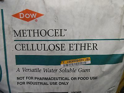 8 oz DOW Methocel Cellulose Ether MethylCellulose Water Soluble Gum