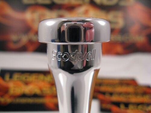 LEGENDS SCODWELL .640 Bb Trumpet Mouthpiece HEAVY STANDARD LIGHT jazz big band