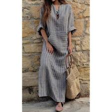 5b44dc782 item 1 Plus Size Women Boho Baggy Cotton Linen Long Maxi Dress Kaftan Long  Sleeve Dress -Plus Size Women Boho Baggy Cotton Linen Long Maxi Dress  Kaftan Long ...