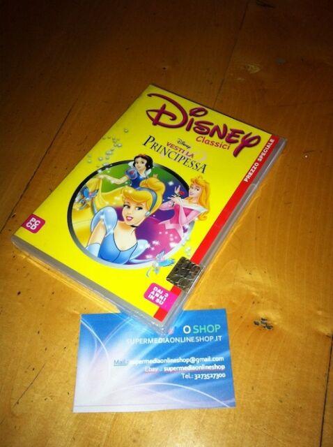 CLASSICI DISNEY VESTI LA PRINCIPESSA GAME PC CD ROM SIGILLATO ITALIANO INGLESE
