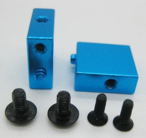 Aluminium Métal Servo Mount A580056 2PCS pour Wltoys A959 A969 A979 1//18 Contrôle Radio Voiture