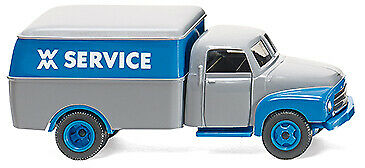 "Wiking 035402-1//87 recuadro carro /""WM Service/"" Opel Blitz nuevo"