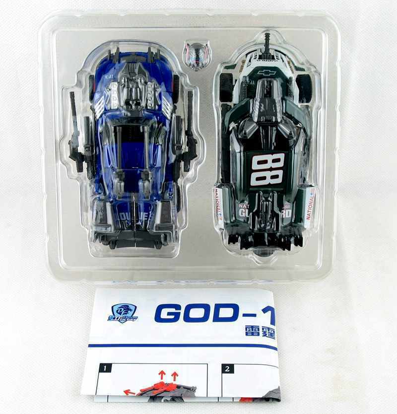 Transformers TF DreamWorks GOD-10 Class D Lu VS shou suit Topspin Roadbuster