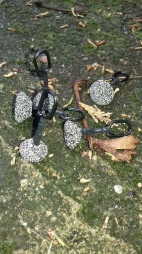 Carp Fishing 10 X Dinky Back Leads //gravel