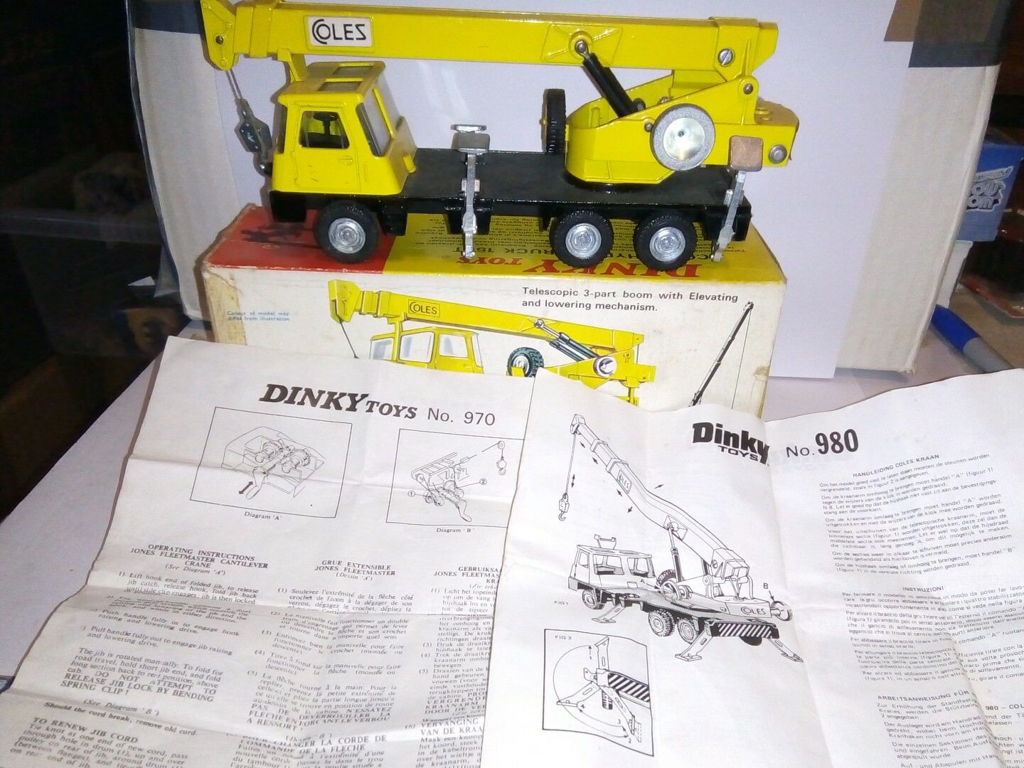 Dinky toys box boxed no 980