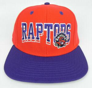TORONTO-RAPTORS-NBA-VINTAGE-STYLE-SNAPBACK-FLAT-BILL-BLOCK-2-TONE-CAP-HAT-NEW