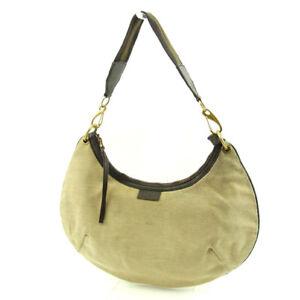 0f9da4abfe1f Gucci Shoulder bag Sherry Line Beige Brown Woman unisex Authentic ...