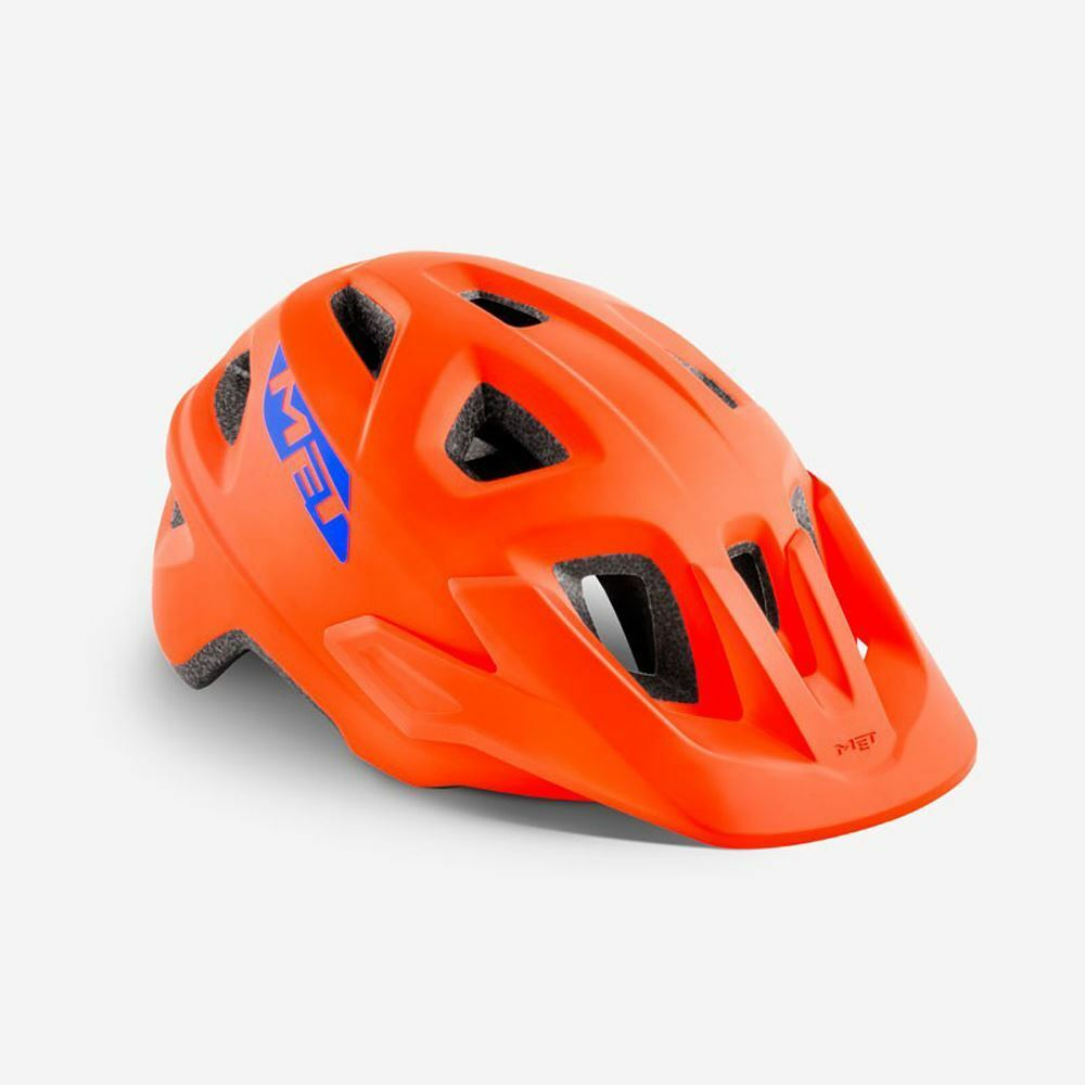 Mountain Bike Youth Cycle Helmet MET Eldar orange Matt UN 52 57 cm