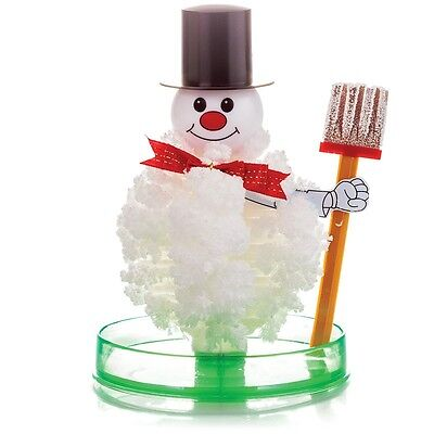 10 x Magic Growing Crystal Snowman Christmas Gifts Stocking Filler Toys 07302