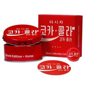 Korea Coca Cola Bottle Cap Global Edition 2020 6 Gram 1 Pure Silver Coin Fiji Ebay