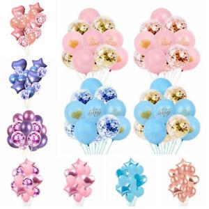 Baby-Shower-Confetti-Balloons-Kid-039-s-Birthday-Wedding-Gender-Reveal-Party-Decor