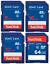 SanDisk 8GB//16GB//32GB//64GB SD Card SDHC SDXC Class 4  Digital Cameras-UK