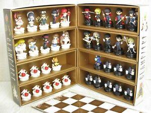 CLAMP-NO-KISEKI-Complete-Art-Set-38-Chess-Pieces-Box-Board-KERO-SUPINEL-Book