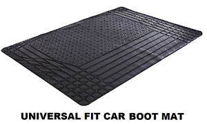Universal-Black-Heavy-Duty-Waterproof-Rubber-Car-Boot-Protection-Liner-Mat