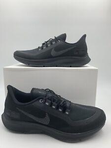 Details about Men's Nike Air Zoom Pegasus 35 Shield Size 7 AA1643 002 Black blackout