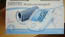 Blutdruckmessgerät Sanitas Oberarm XL Display Blodtrycksmätare Blood pressure